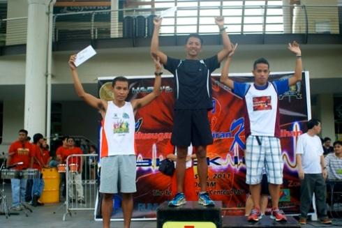 Men's 10K Winners