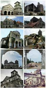 Heritage churches before and after.
