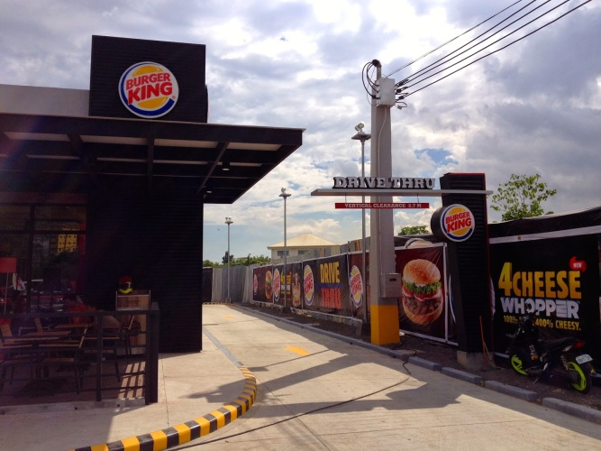 Burger King Cebu Drive through