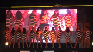 Opening number for Ms. Mandaue 2015 Talent Night